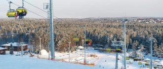 Горнолыжный курорт Охта Парк Ленинградской области