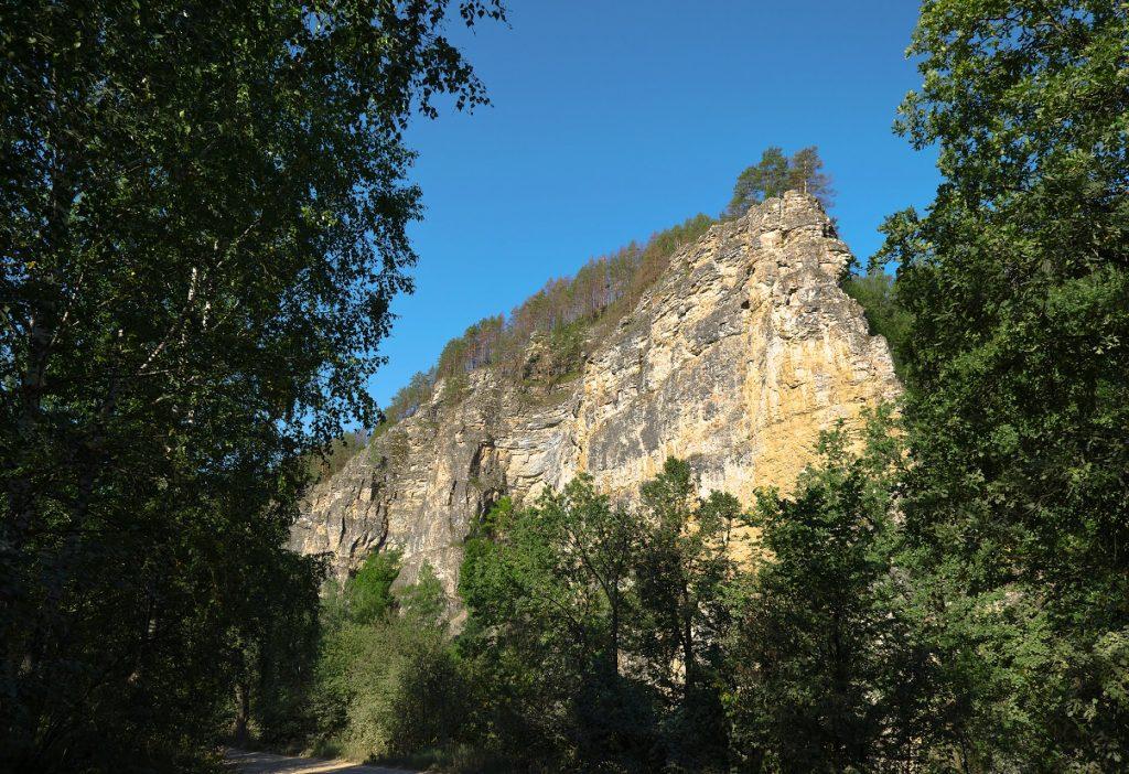 Скала Калим-Ускан