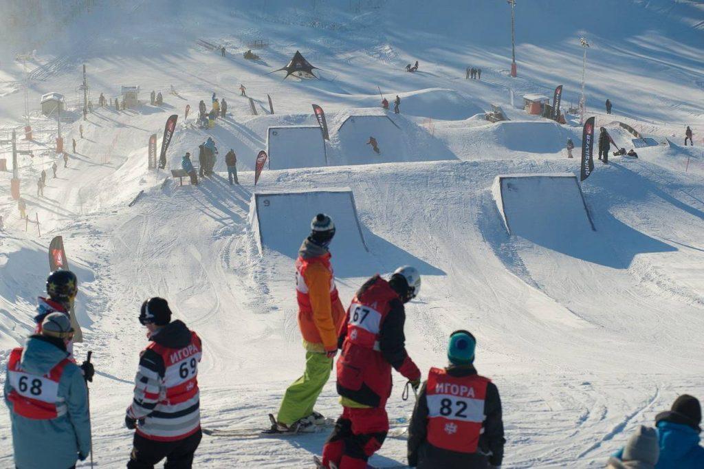 сноупарк горнолыжного курорта Игора