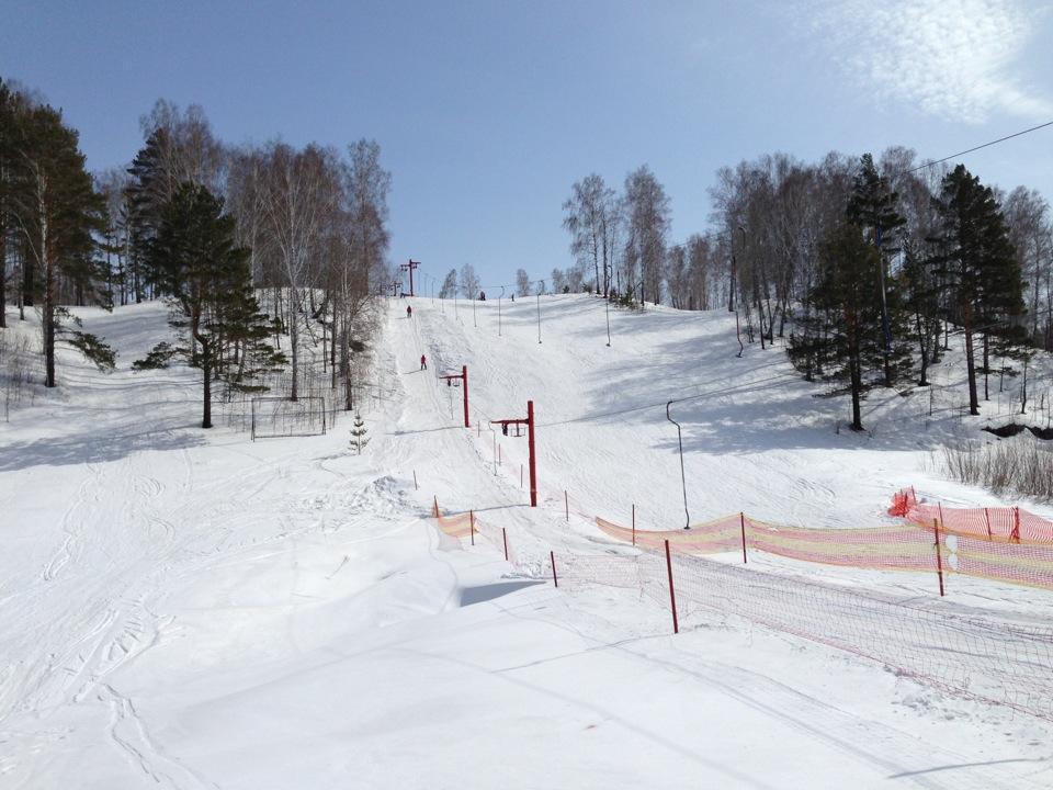 Трассы Ключи - горнолыжный комплекс в Новосибирске