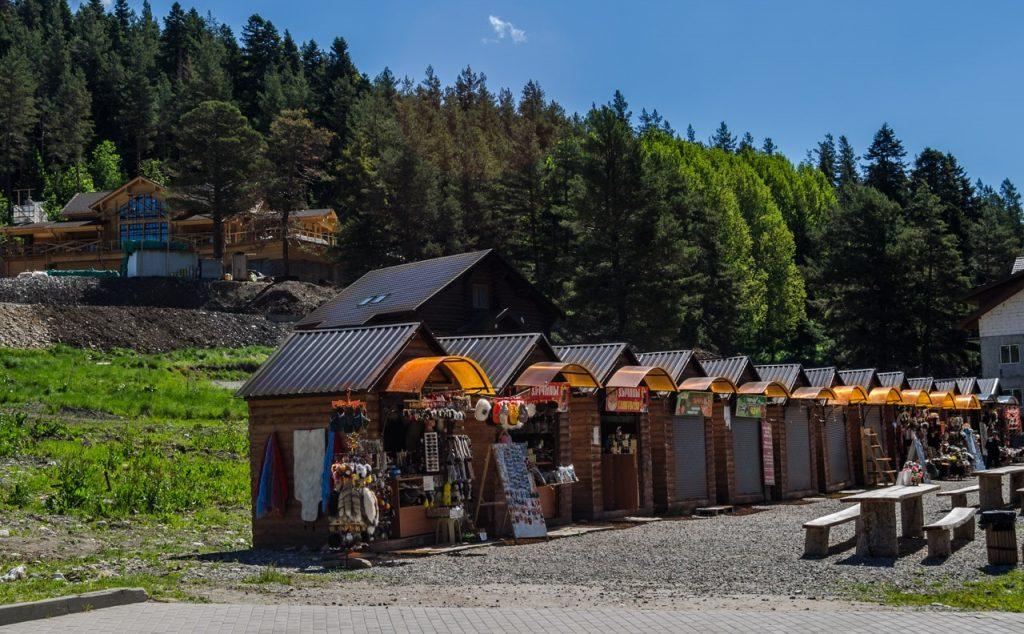 Инфраструктура Горнолыжный курорт Архыз (Кавказ)