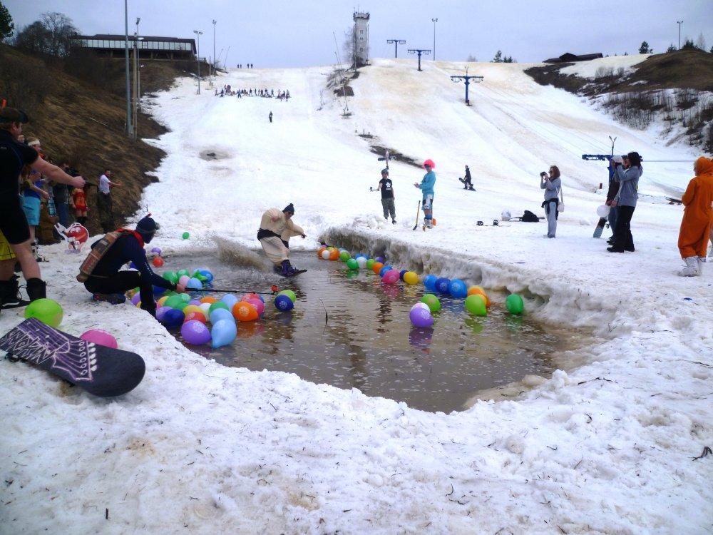 Развлечения Горнолыжный курорт Волен