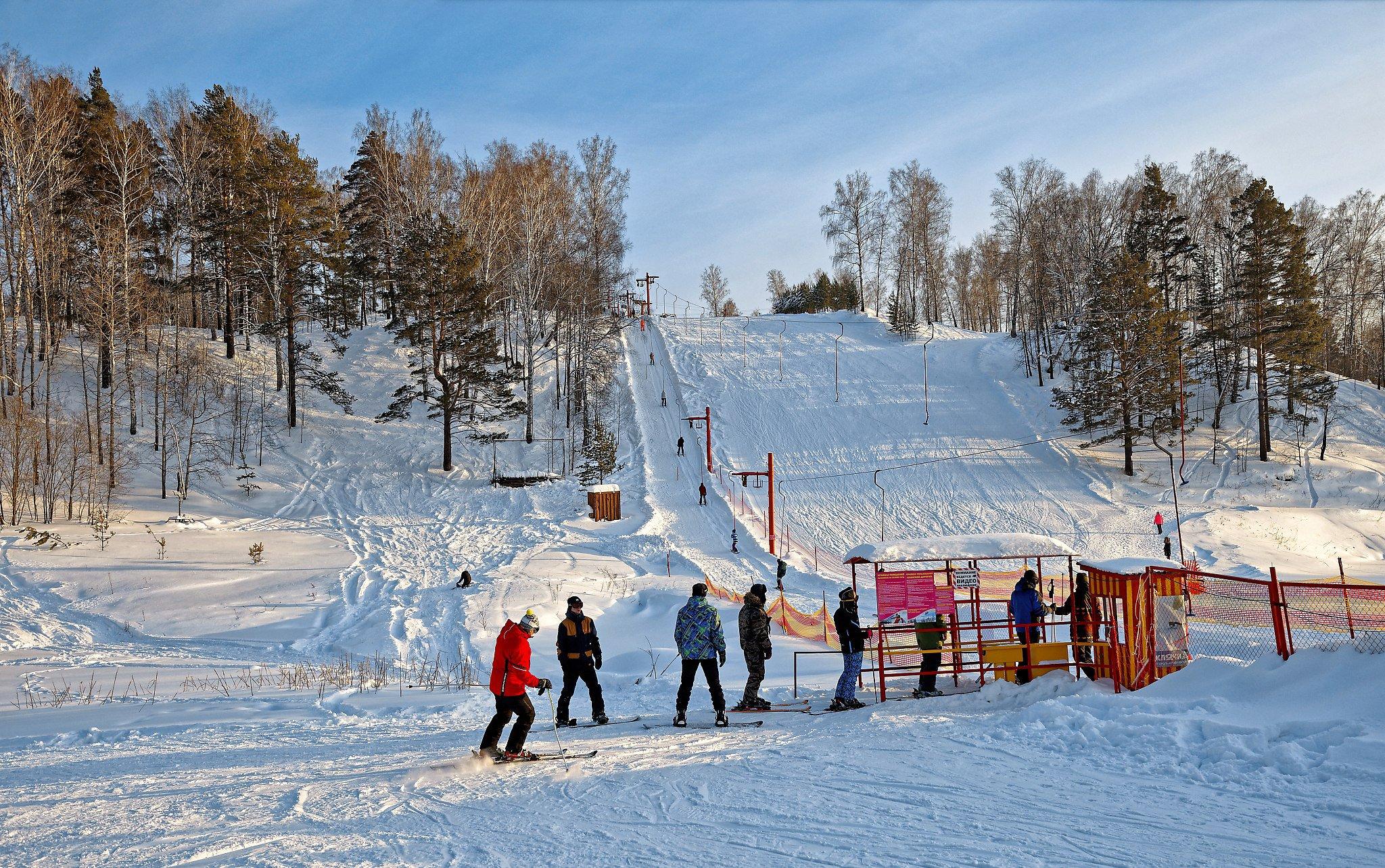 Ключи - горнолыжный комплекс в Новосибирске