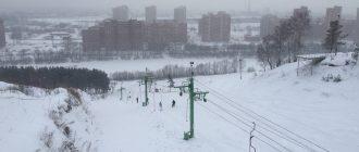 Горнолыжный комплекс Иня в Новосибирске