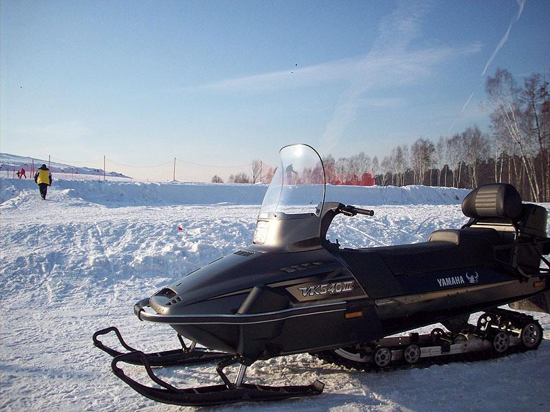 Отдых на снегоходах Горнолыжный комплекс Лисья Гора