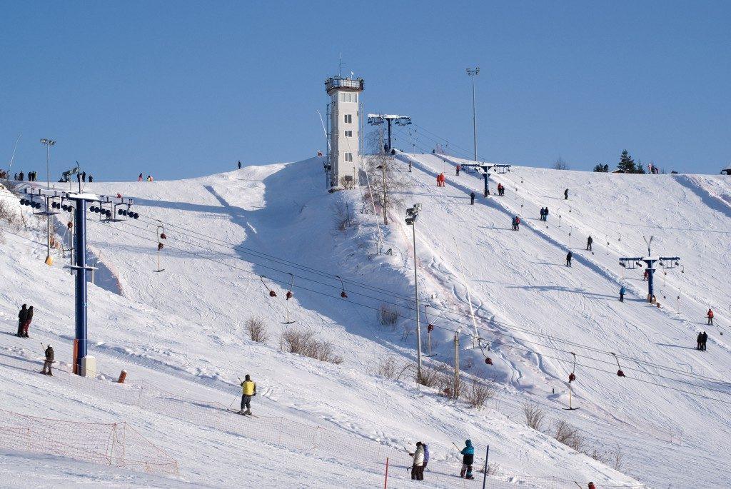 горнолыжный комплекс Волен 2
