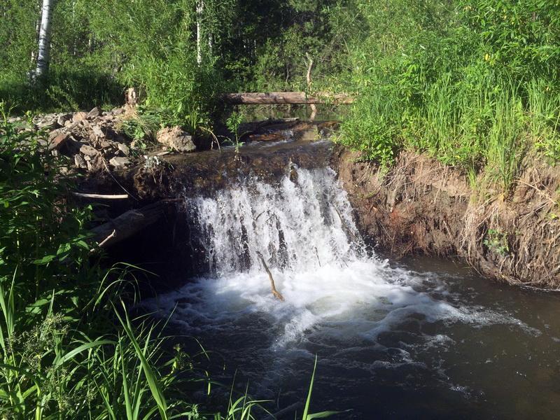 Речка Выдриха Горнолыжный комплекс Юрманка