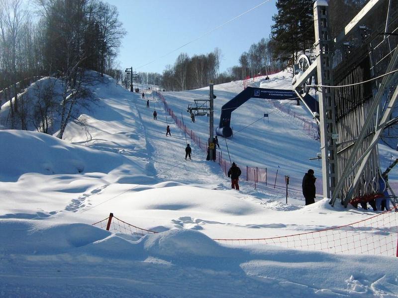 Подъемники Новососедово - горнолыжный комплекс