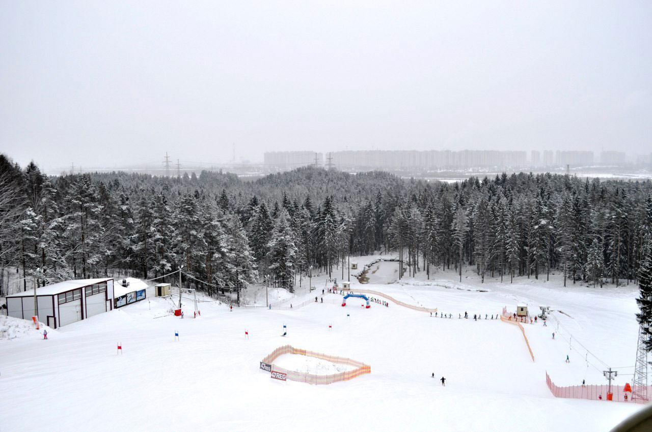 Горнолыжный комплекс Юкки Парк в Ленинградской области
