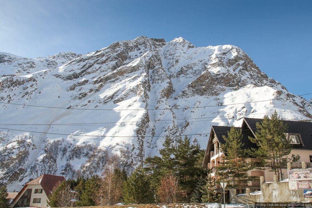 Чегет - горнолыжный курорт в Приэльбрусье