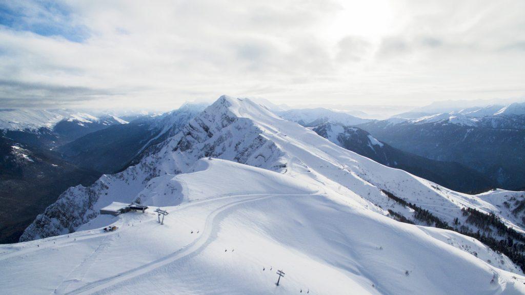 Роза Пик Роза Хутор - горнолыжный курорт