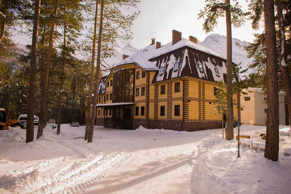 Проживание: отели коттеджи и гостиницы