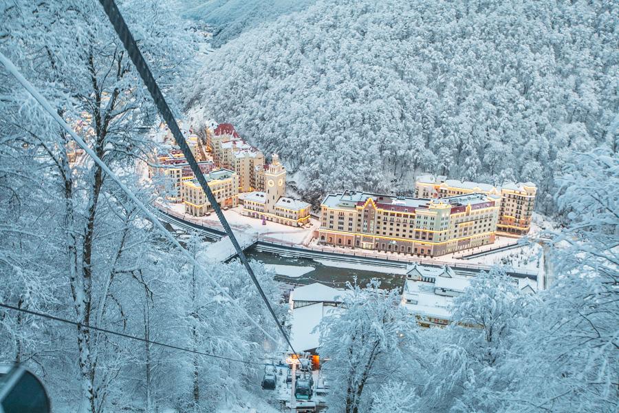 Роза Хутор - горнолыжный курорт на Красной Поляне