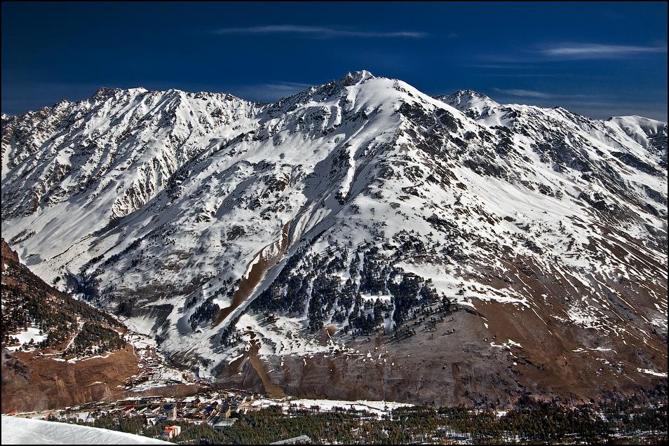 Горы Приэльбрусье