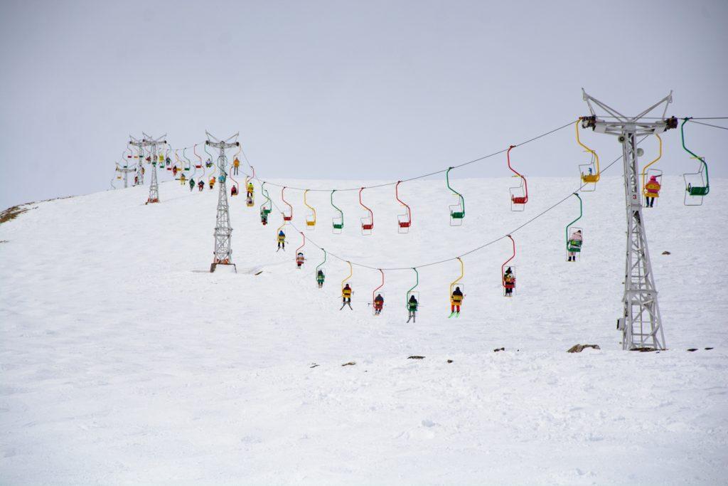 Подъемники Чегет - горнолыжный курорт в Приэльбрусье