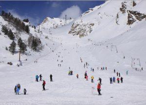Трассы и подъемники горнолыжного курорта Чегет в Приэльбрусье