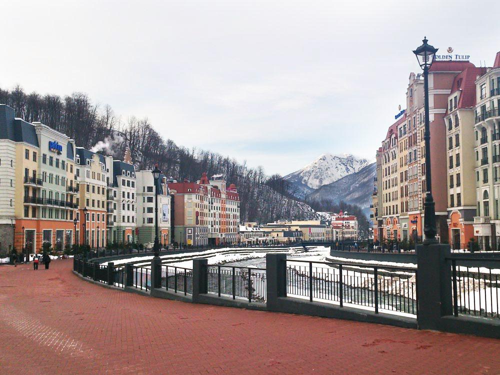 Роза Хутор - горнолыжный курорт