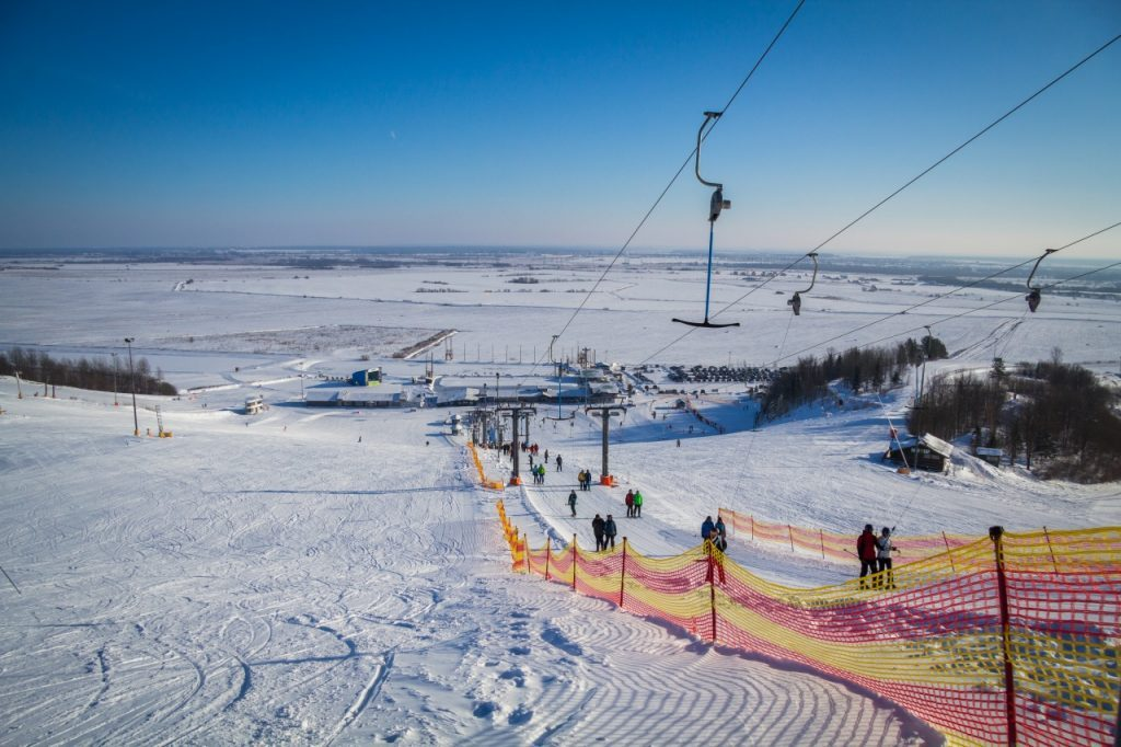 Горнолыжный курорт Туутари парк в Ленинградской области