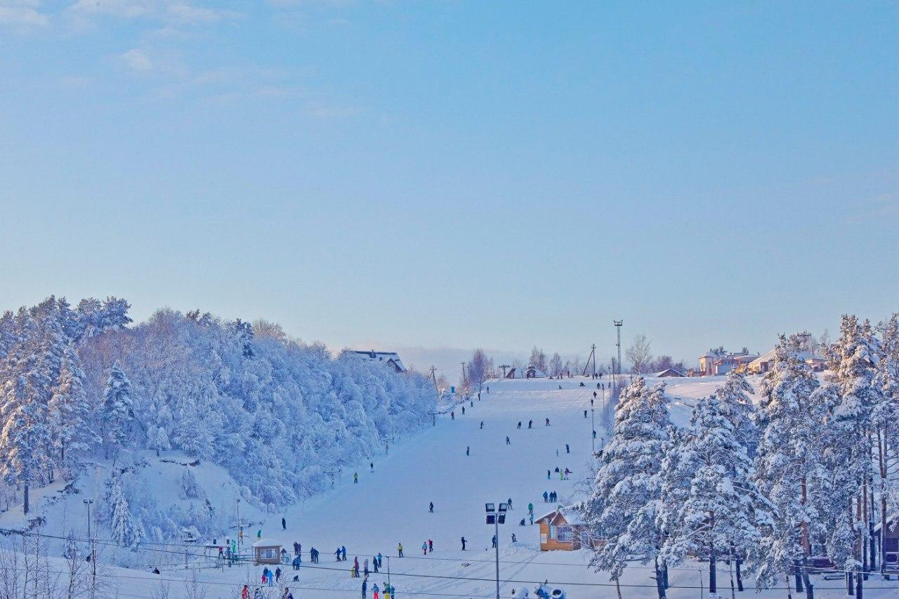 Северный склон - горнолыжный курорт, Токсово (Кавголово)