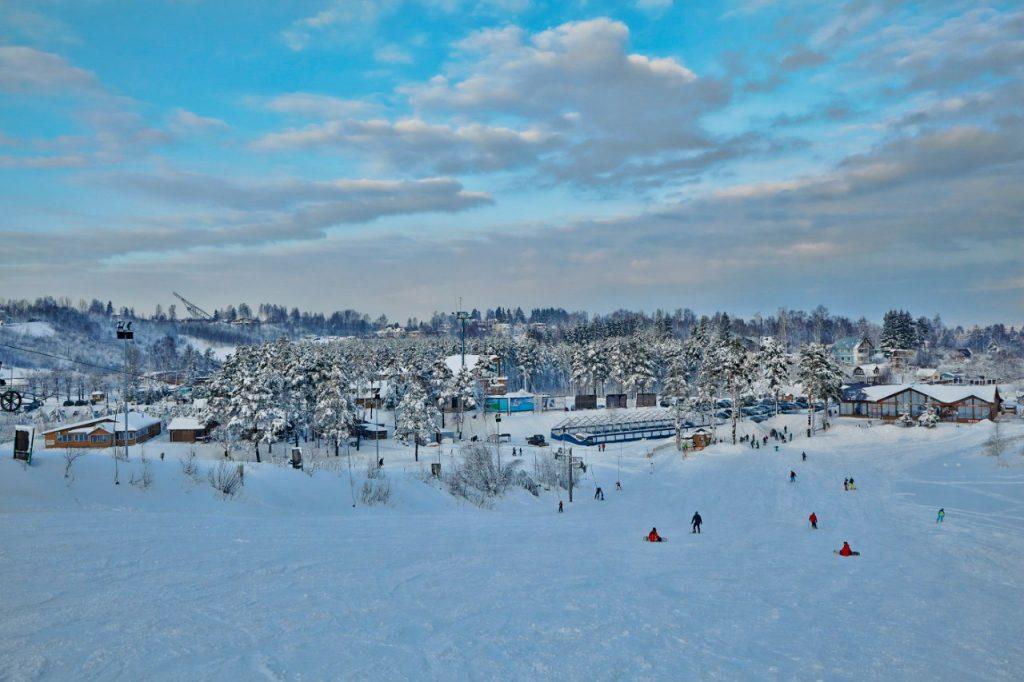 Трассы Северный склон - горнолыжный курорт, Токсово