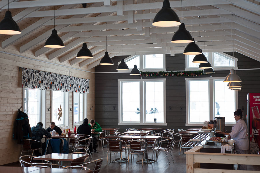 Кафе и рестораны Ялгора - горнолыжный курорт в Карелии