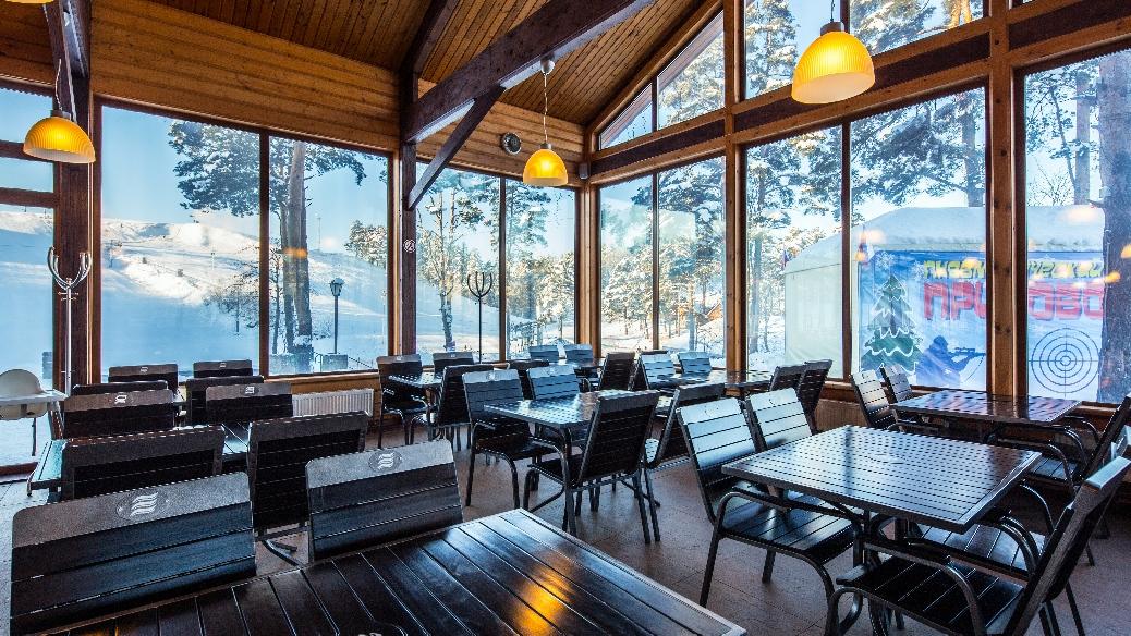 Рестораны и кафе Северный склон - горнолыжный курорт