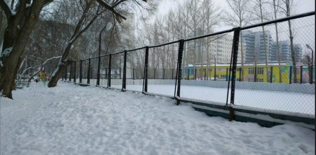 Каток у Гознака Пермь