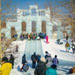 Ледовый городок в Новосибирске 3