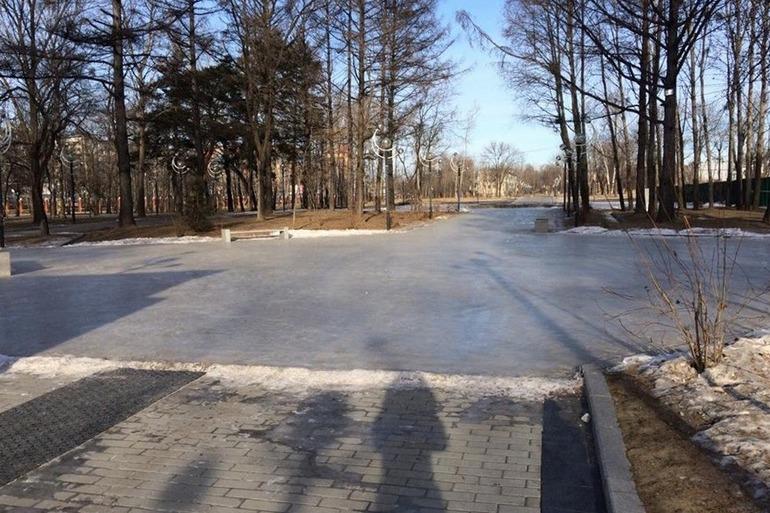 Парк Гагарина каток «Орбита»