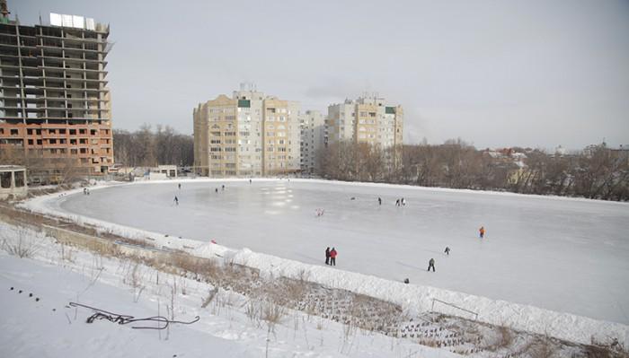 Площадка на стадионе «Спартак»