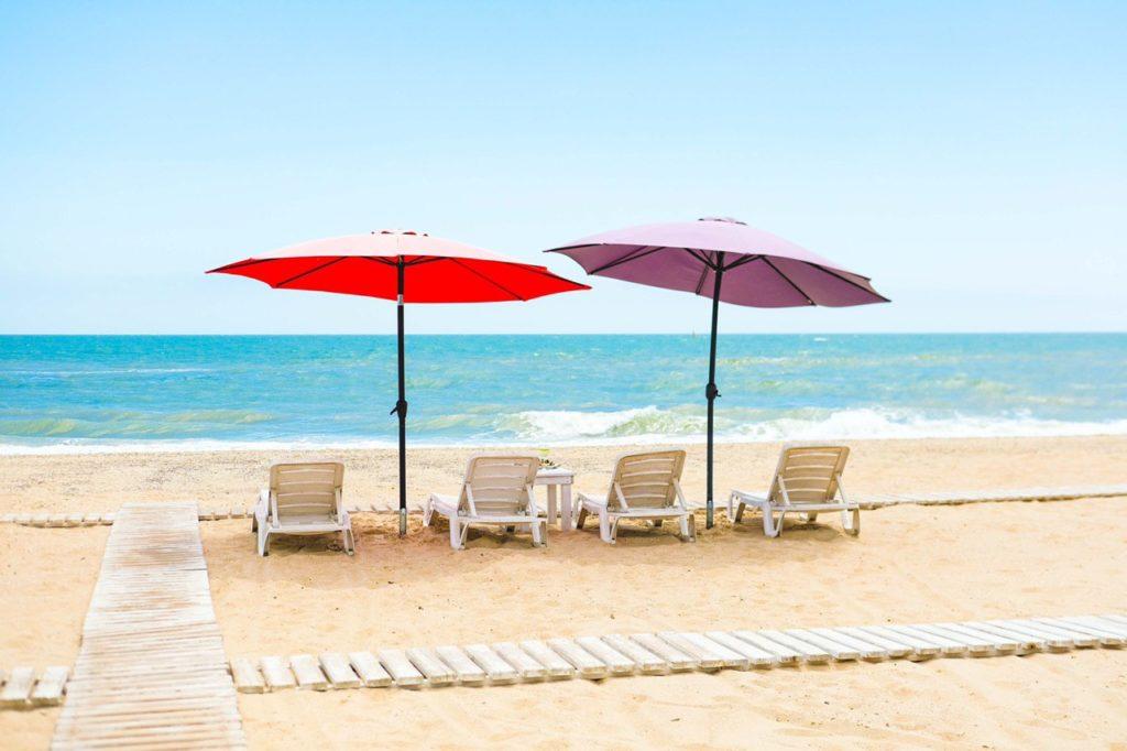Пляж базы Солнечная